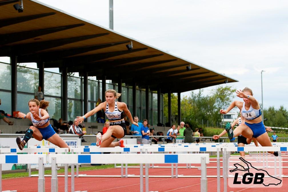 Hürdensprint am Track Event 2020